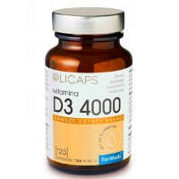 OLICAPS WITAMINA D3 4000 D-3 NATURALNA Z LANOLINY 120kaps