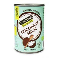COCONUT MILK - NAPÓJ KOKOSOWY BEZ GUMY GUAR (17 % TŁUSZCZU) BIO 400 ml (PUSZKA) - COCOMI