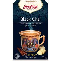 HERBATA CZARNA BLACK CHAI Z IMBIREM I CYNAMONEM BIO (17 x 2,2 g) 37,4 g - YOGI TEA