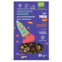 Draże czekoladowe bezglutenowe Super Fudgio BIO, 80g
