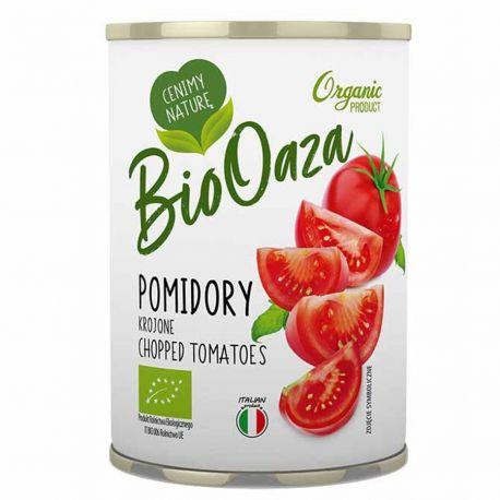 Pomidory konserwowe krojone BioOaza